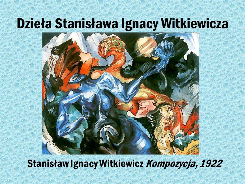 Znany przedstawiciel formizmu Stanisław Ignacy Witkiewicz-(1885-1939) polski malarz, fotografik, pisarz, dramaturg i filozof