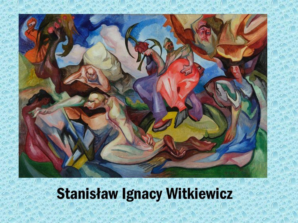 Dzieła Stanisława Ignacy Witkiewicza Stanisław Ignacy Witkiewicz Kompozycja, 1922