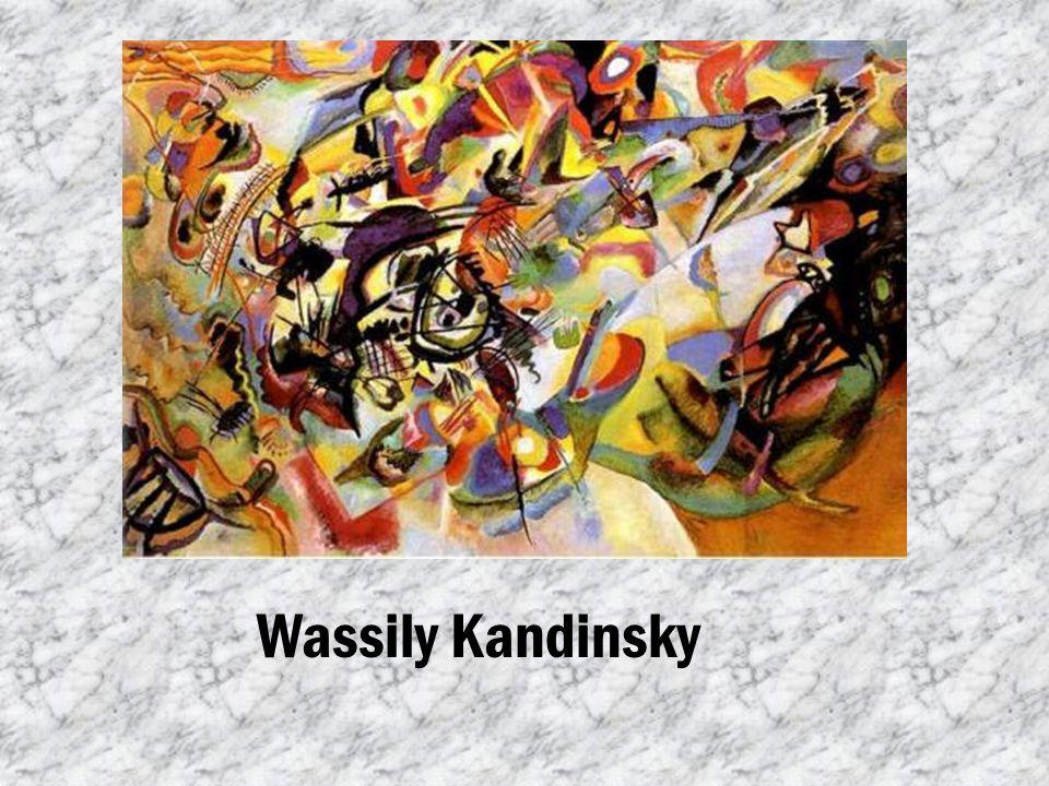 Dzieła Wassily Kandinsky Wassily Kandinsky Akwarela abstrakcyjna, 1910