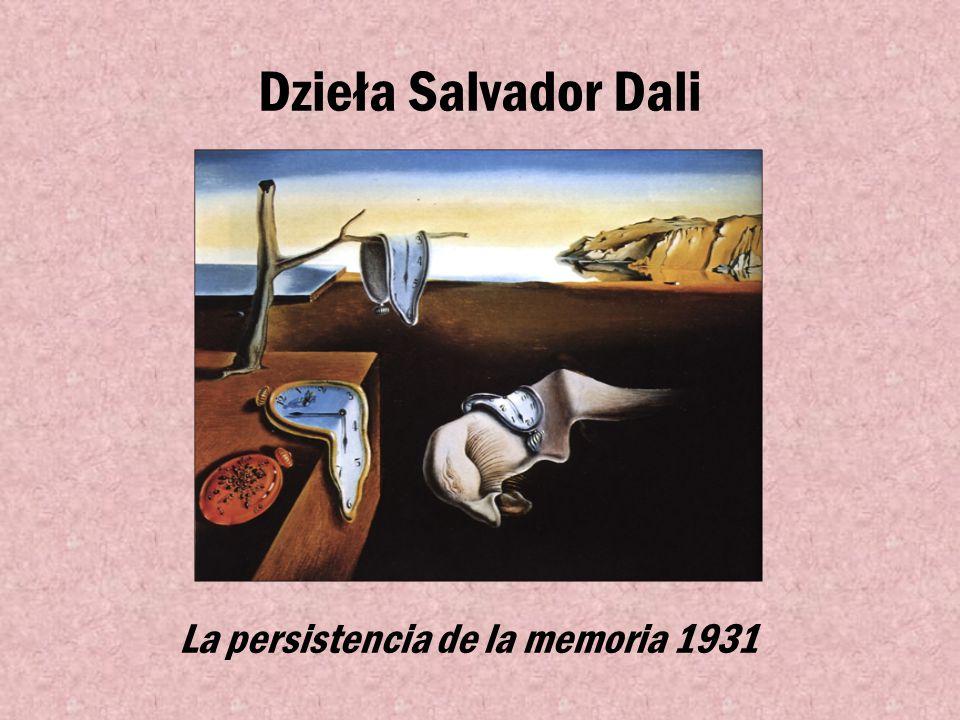 Znany Przedstawiciel Surrealizmu Salvador Dali-(1904-1989) kataloński malarz, jeden z najbardziej znanych surrealistów. Jest jednym z bardziej rozpozn
