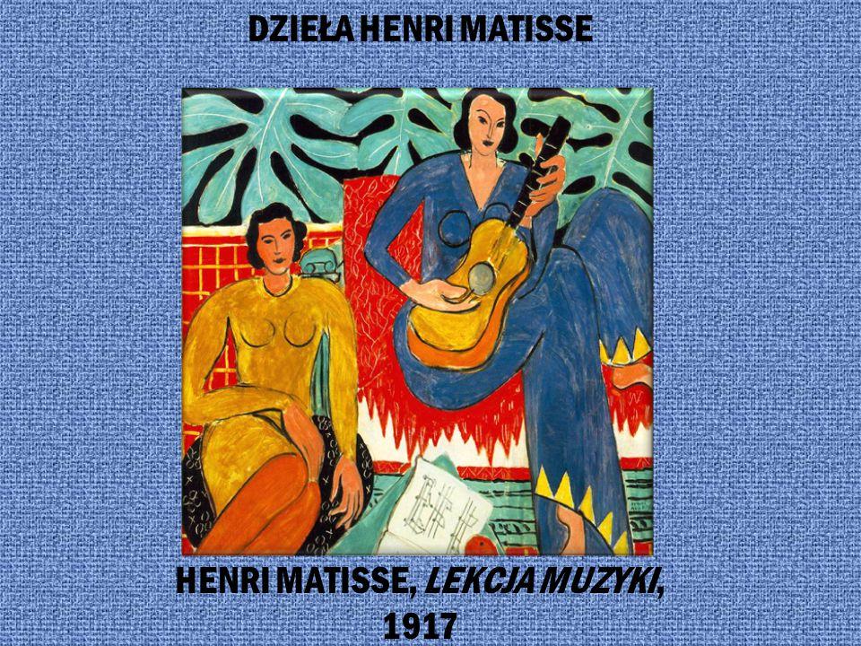 Najbardziej znany przedstawiciel malarstwa fowizmu Henri Matisse (1869-1954) Henri Matisse był czołowym przedstawicielem fowizmu, marzącym o sztuce, k