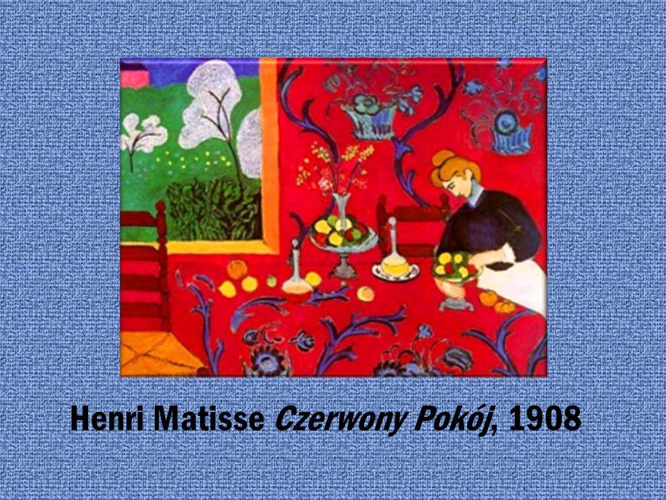 DZIEŁA HENRI MATISSE HENRI MATISSE, LEKCJA MUZYKI, 1917
