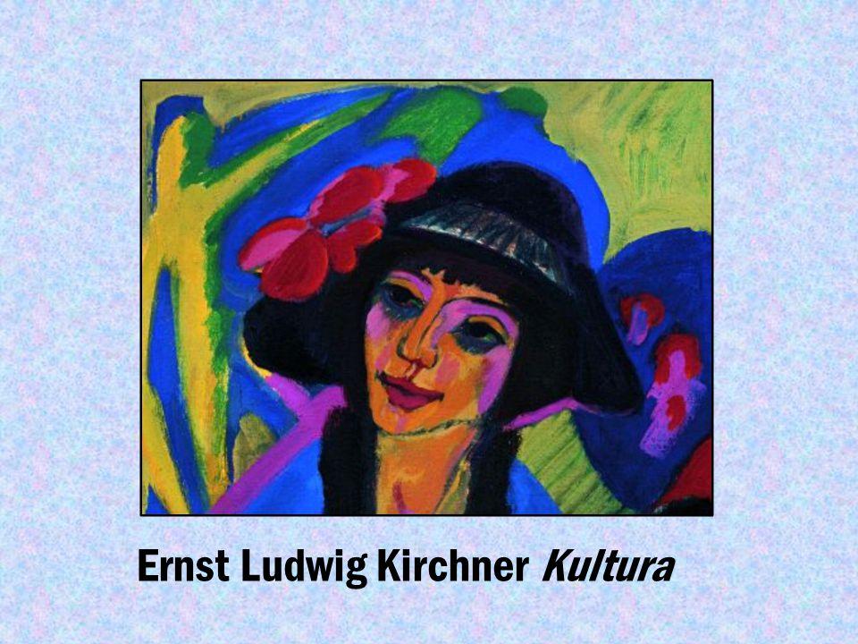Dzieła Ernst Ludwig Kirchner Ernst Ludwig Kirchner Malarz i modelka, 1906