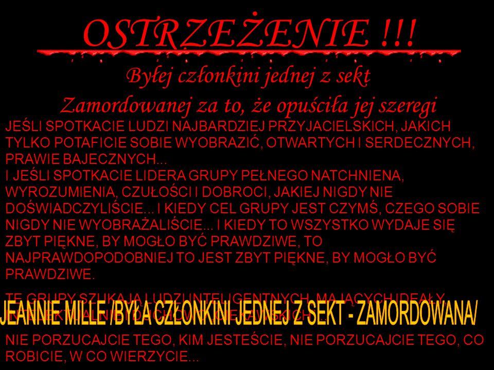 OSTRZEŻENIE !!.