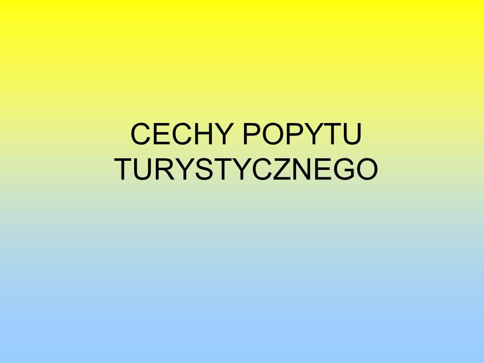 CECHY POPYTU TURYSTYCZNEGO