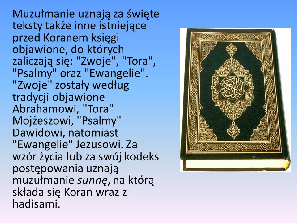 Co islam mówi na temat Jezusa, syna Marii.