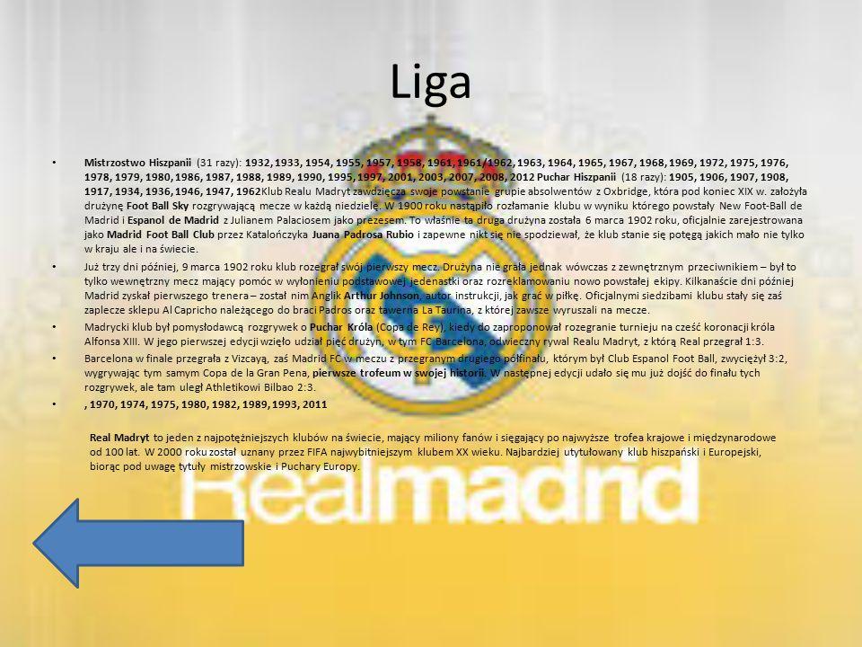 Liga Mistrzostwo Hiszpanii (31 razy): 1932, 1933, 1954, 1955, 1957, 1958, 1961, 1961/1962, 1963, 1964, 1965, 1967, 1968, 1969, 1972, 1975, 1976, 1978,
