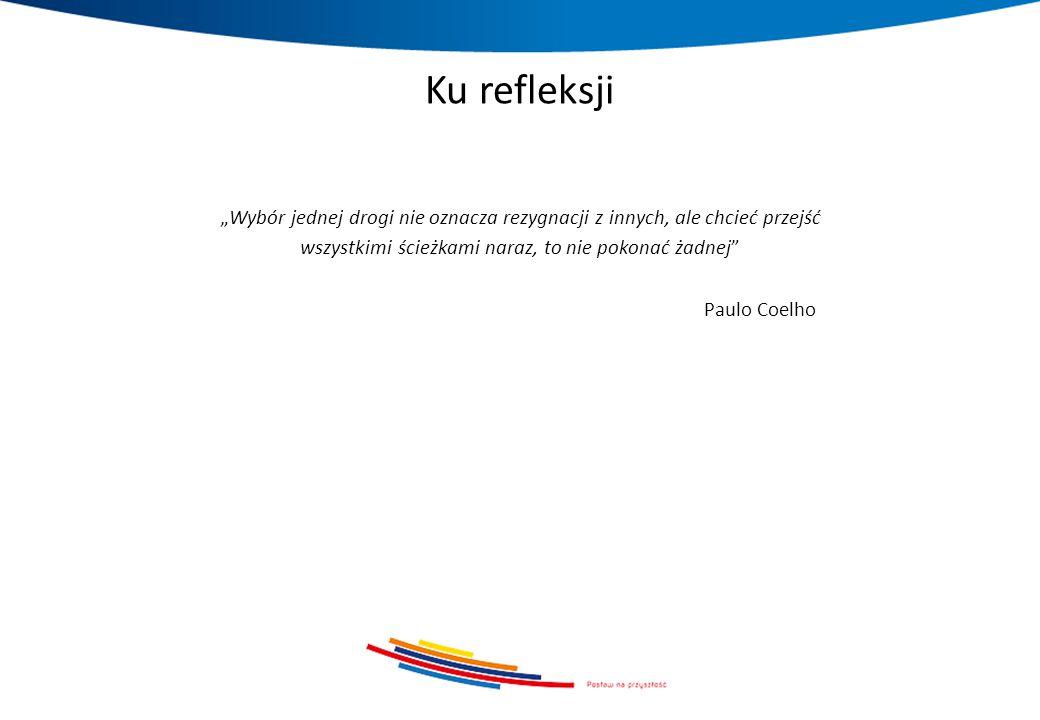 """Ku refleksji """"Wybór jednej drogi nie oznacza rezygnacji z innych, ale chcieć przejść wszystkimi ścieżkami naraz, to nie pokonać żadnej"""" Paulo Coelho"""