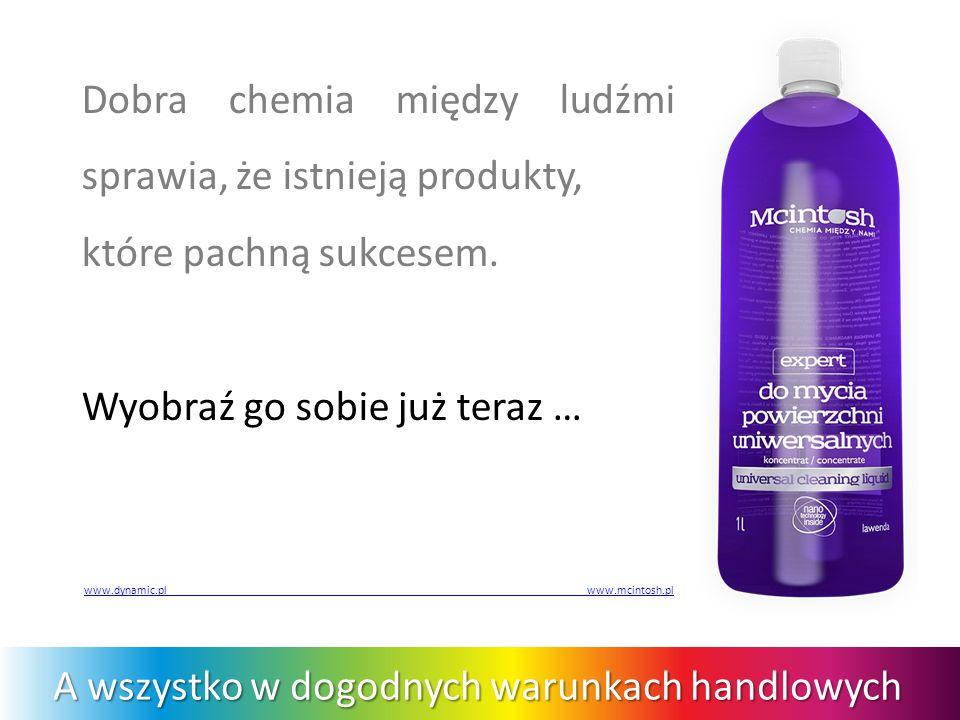 Dobra chemia między ludźmi sprawia, że istnieją produkty, które pachną sukcesem.