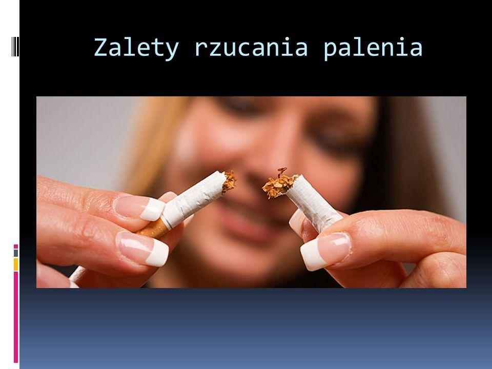 Zalety rzucania palenia