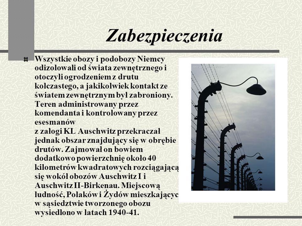 Auschwitz III - Monowitz Obóz Auschwitz – Monowice, W latach 1942-1944 największy z podobozów niemieckich wykorzystujących niewolniczą siłę roboczą ja
