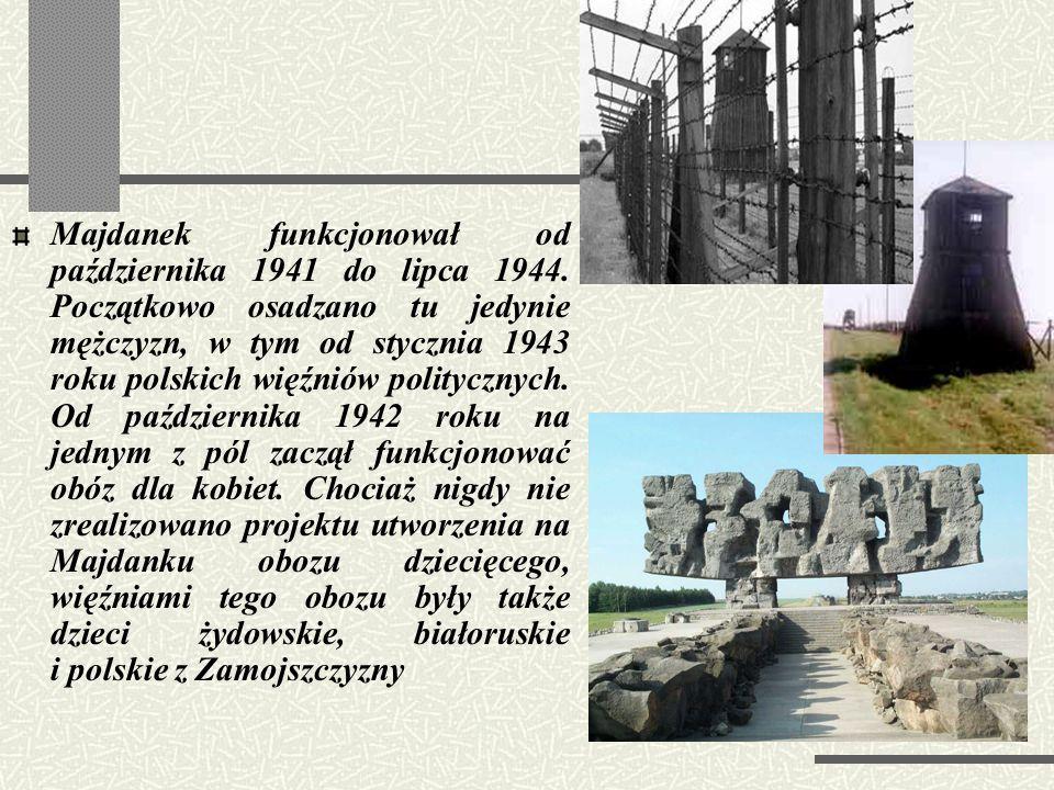KL Lublin Obóz koncentracyjny w Lublinie, nazywany potocznie Majdankiem, powstał na mocy decyzji Heinricha Himmlera. Wizytując Lublin w lipcu 1941 rok