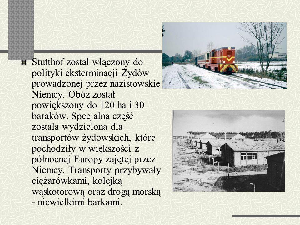 KL Stutthof Stutthof - Sztutowo – niemiecki obóz koncentracyjny zbudowany 2 września 1939 roku, w obrębie anektowanych terytoriów Wolnego Miasta Gdańs