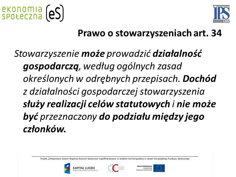 Prawo o stowarzyszeniach art.