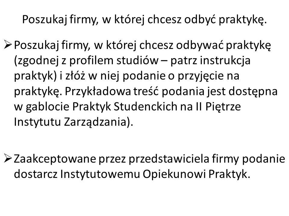 Porozumienia w sprawie praktyk zawodowych (szt.