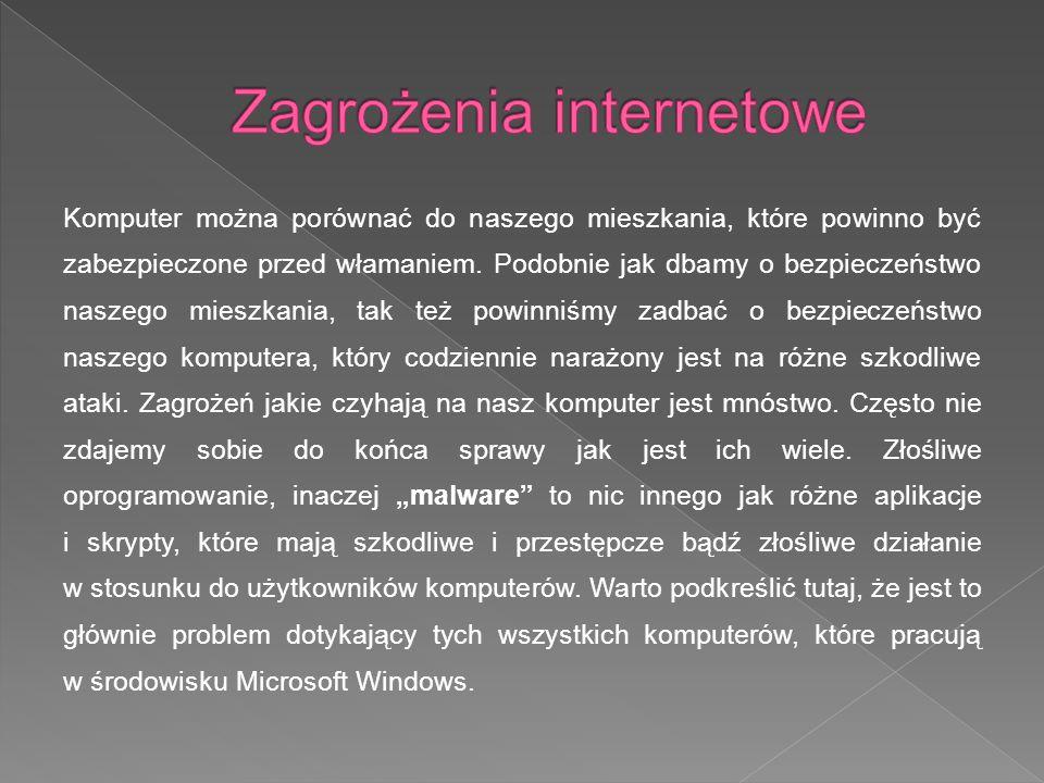 - wirusy, - robaki, - wabbity, - trojany, - backdoor, - programy szpiegujące, - exploit, - rootkit, - keylogger, - dialery, wirusy,robaki,wabbity,trojany,backdoor,programy szpiegujące,exploit,rootkitkeyloggerdialery,