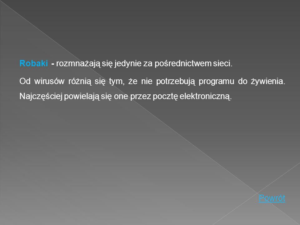 Wabbit jest programem rezydentnym, który nie powiela się przez sieć.