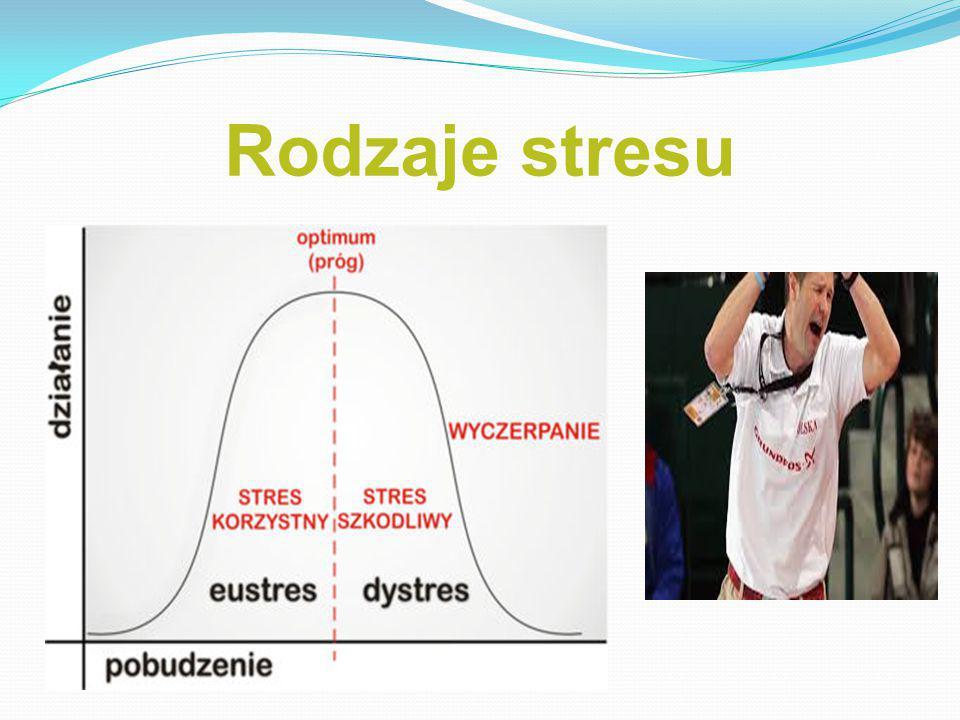 Rodzaje stresu