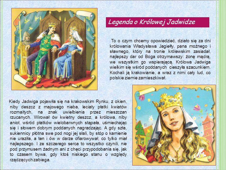 To o czym chcemy opowiedzieć, działo się za dni królowania Władysława Jagiełły, pana możnego i sławnego, który na tronie królewskim zasiadał, najlepsz