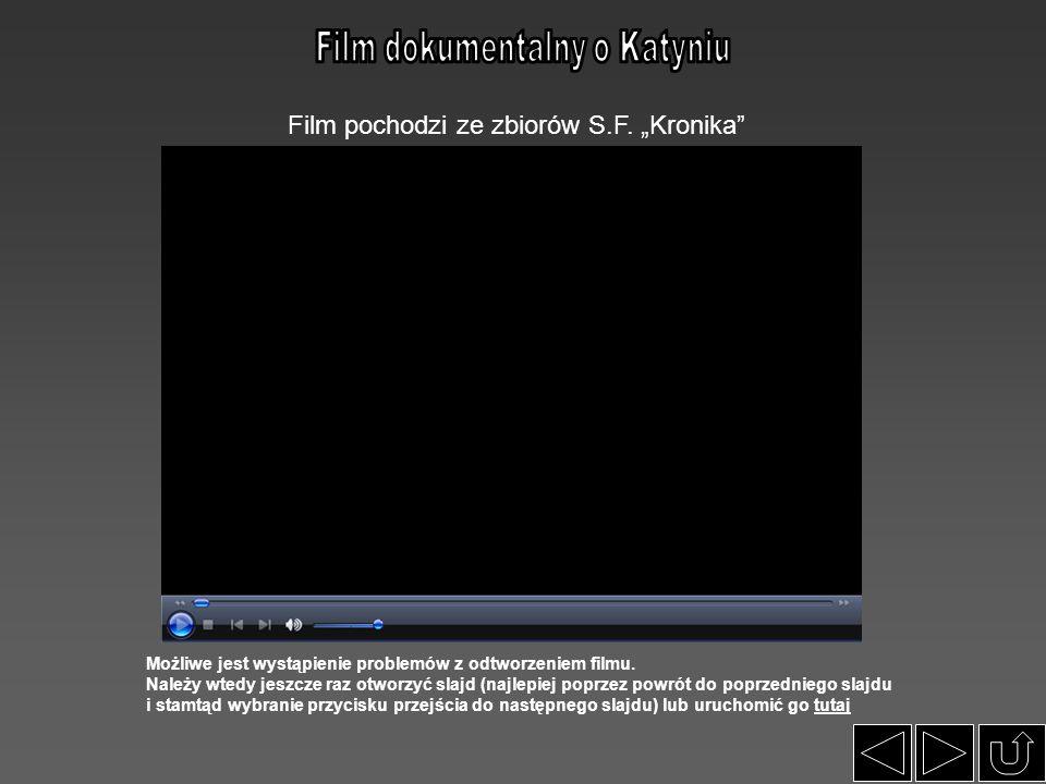 """Film pochodzi ze zbiorów S.F. """"Kronika"""" Możliwe jest wystąpienie problemów z odtworzeniem filmu. Należy wtedy jeszcze raz otworzyć slajd (najlepiej po"""