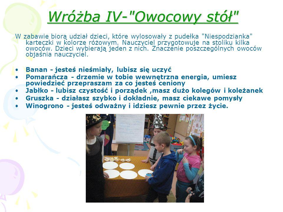 Wróżba IV-