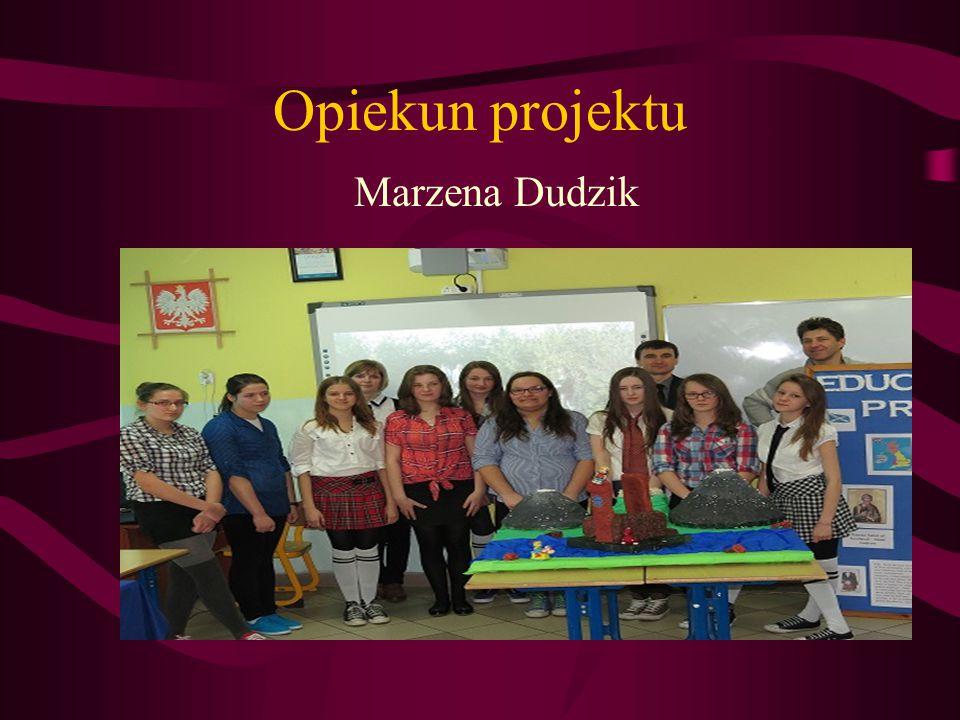 Opiekun projektu Marzena Dudzik