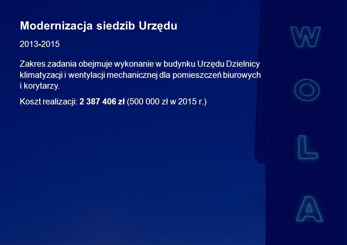 Budowa żłobka przy ul.Ciołka 26A w Dzielnicy Wola m.