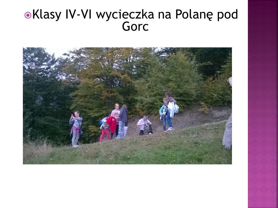  Klasy IV-VI wycieczka na Polanę pod Gorc