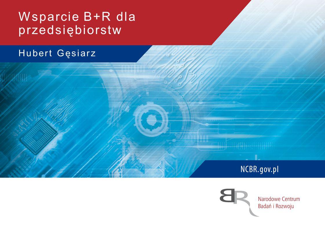 Hubert Gęsiarz Wsparcie B+R dla przedsiębiorstw