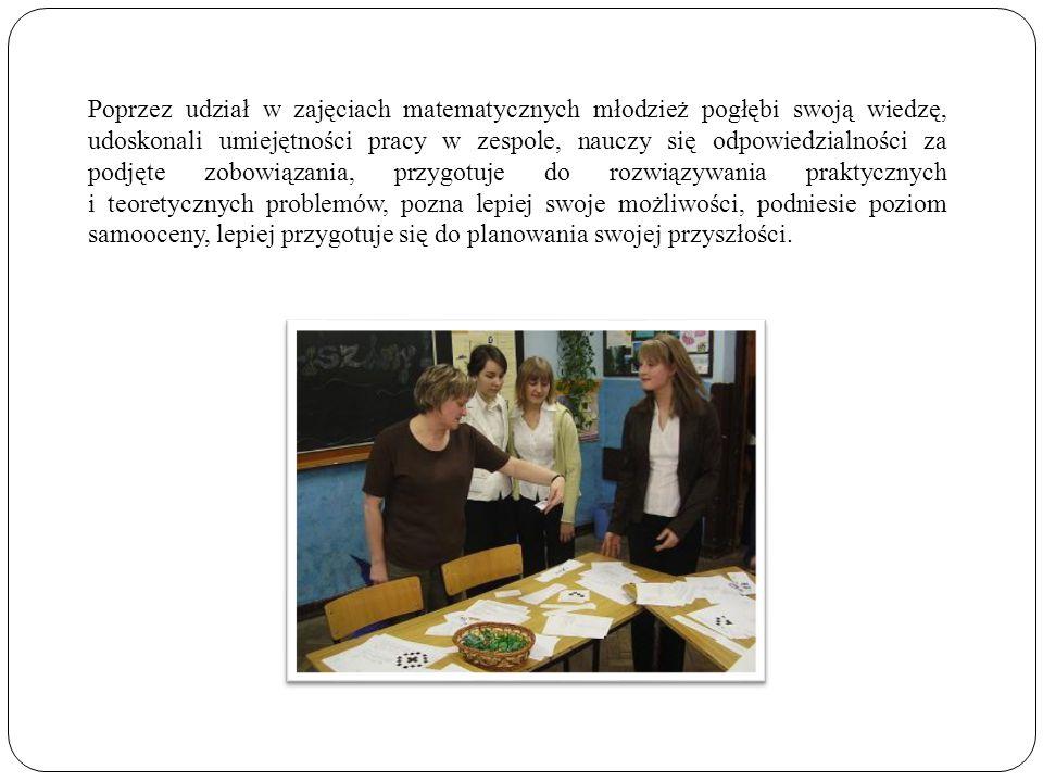 Program do tej klasy został napisany przez nauczyciela wychowania fizycznego – mgr Szymona Walczaka - instruktora i trenera rugby uczącego w naszej szkole.