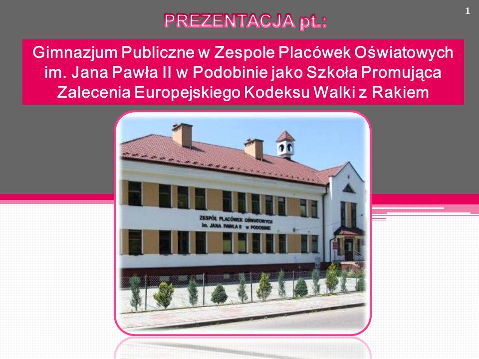 1 Gimnazjum Publiczne w Zespole Placówek Oświatowych im.