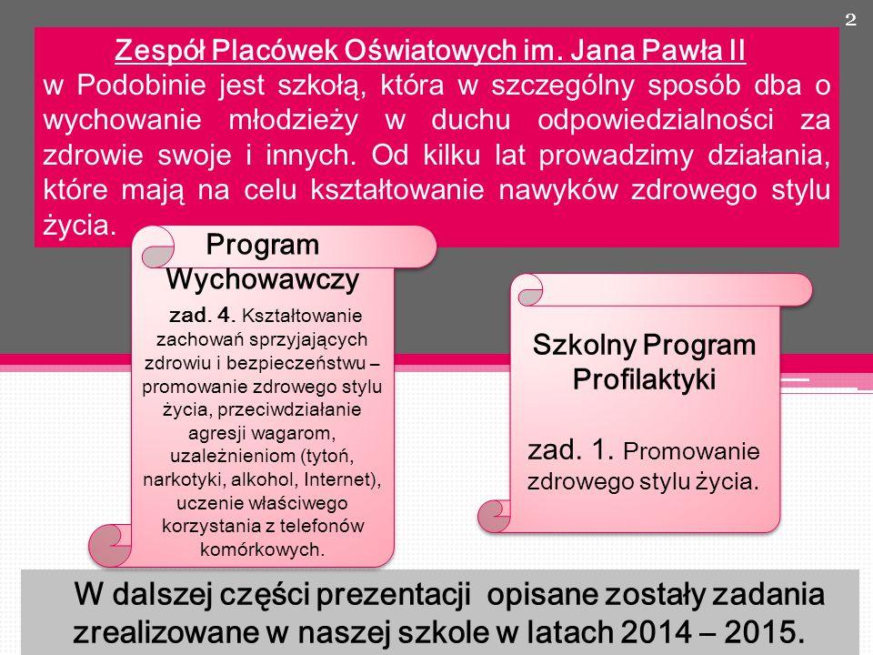 13 Szkolny Konkurs Klasowy na najładniejszy wystrój sali lekcyjnej organizowany we współpracy z Samorządem Uczniowskim.