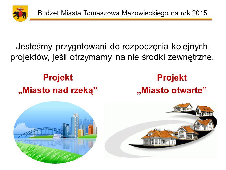 Jesteśmy przygotowani do rozpoczęcia kolejnych projektów, jeśli otrzymamy na nie środki zewnętrzne.