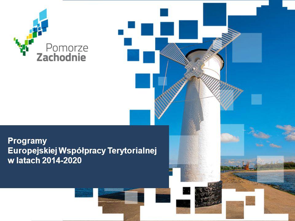 www.wzp.p l Programy Europejskiej Współpracy Terytorialnej w latach 2014-2020