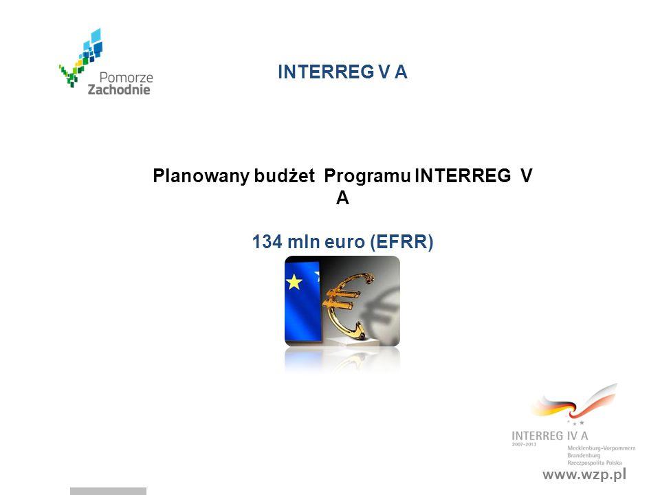 www.wzp.p l INTERREG EUROPA 2014-2020 30 państw: 28 UE Norwegia Szwajcaria Budżet: 359 mln euro