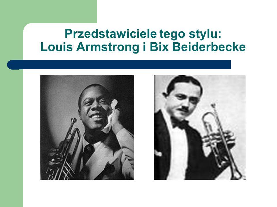 Swing kierunek muzyki jazzowej popularny w USA w latach 30.