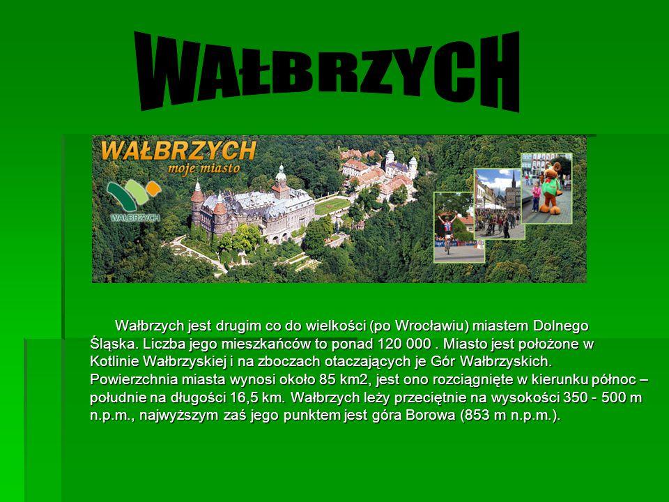 Wałbrzych jest drugim co do wielkości (po Wrocławiu) miastem Dolnego Śląska. Liczba jego mieszkańców to ponad 120 000. Miasto jest położone w Kotlinie
