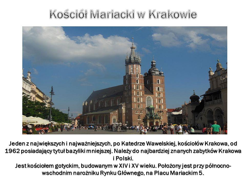 Jeden z największych i najważniejszych, po Katedrze Wawelskiej, kościołów Krakowa, od 1962 posiadający tytuł bazyliki mniejszej. Należy do najbardziej