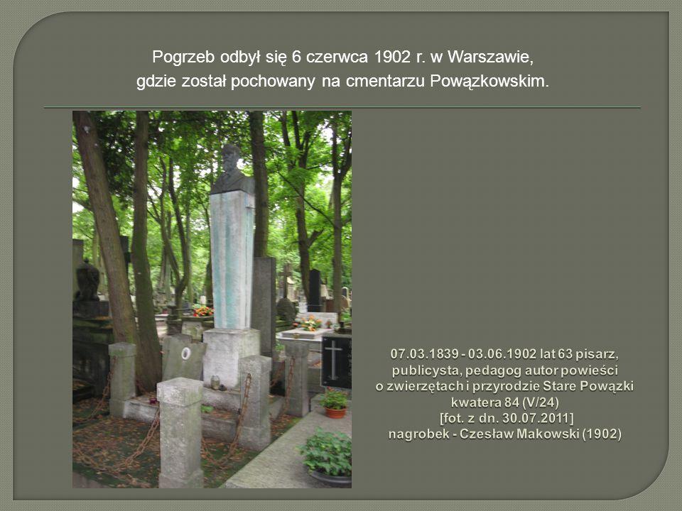 Uczył w szkole Hermana Benniego (patrioty polskiego), który założył ową szkołę jako cichą przystań polskości i postępowej myśli wśród ówczesnego zacofania i rusyfikacji.