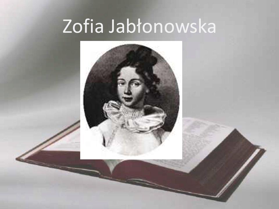 Zofia Jabłonowska