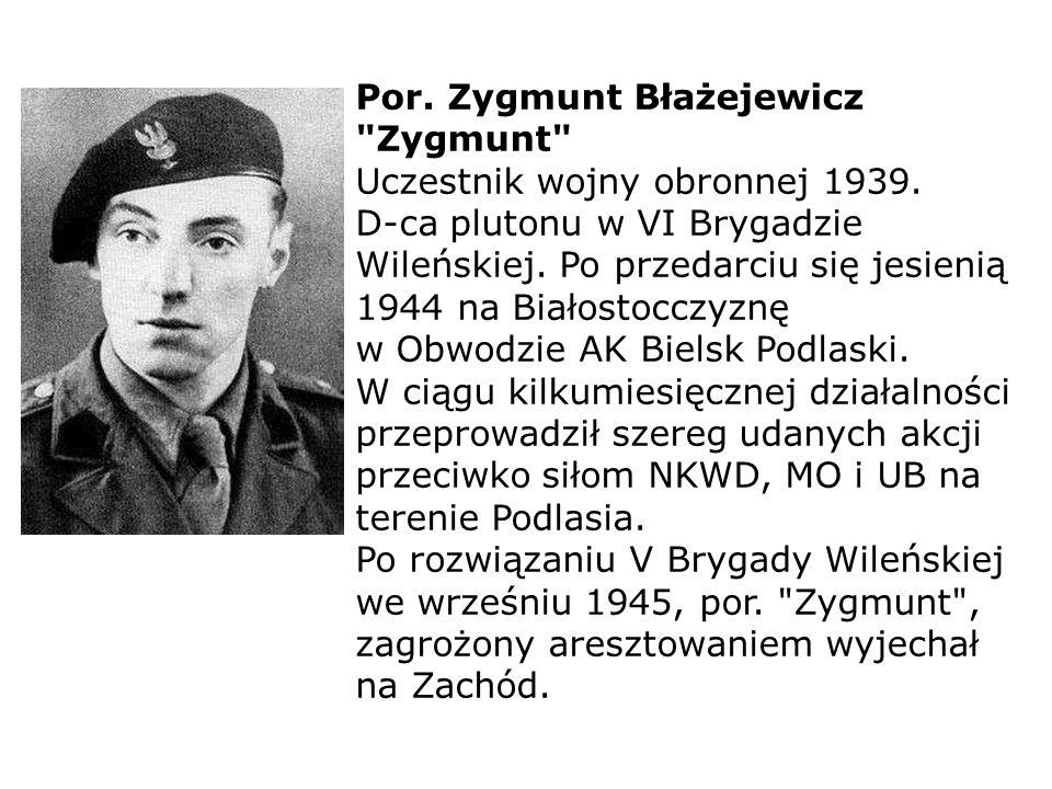 Por. Zygmunt Błażejewicz