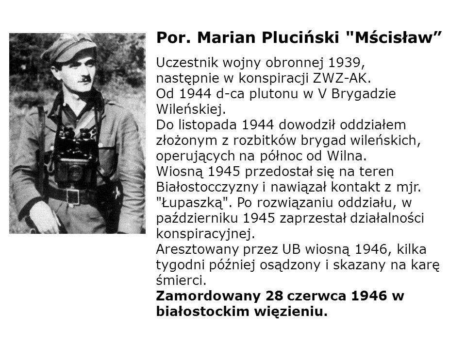 Por. Marian Pluciński