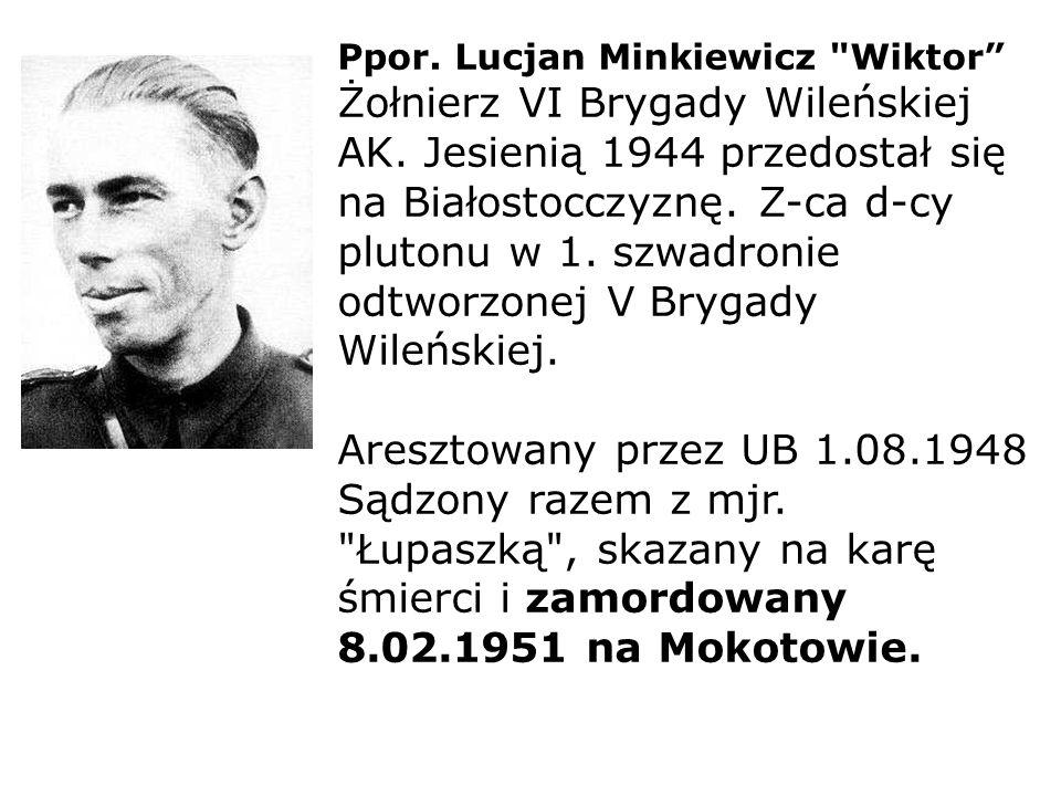 Ppor. Lucjan Minkiewicz
