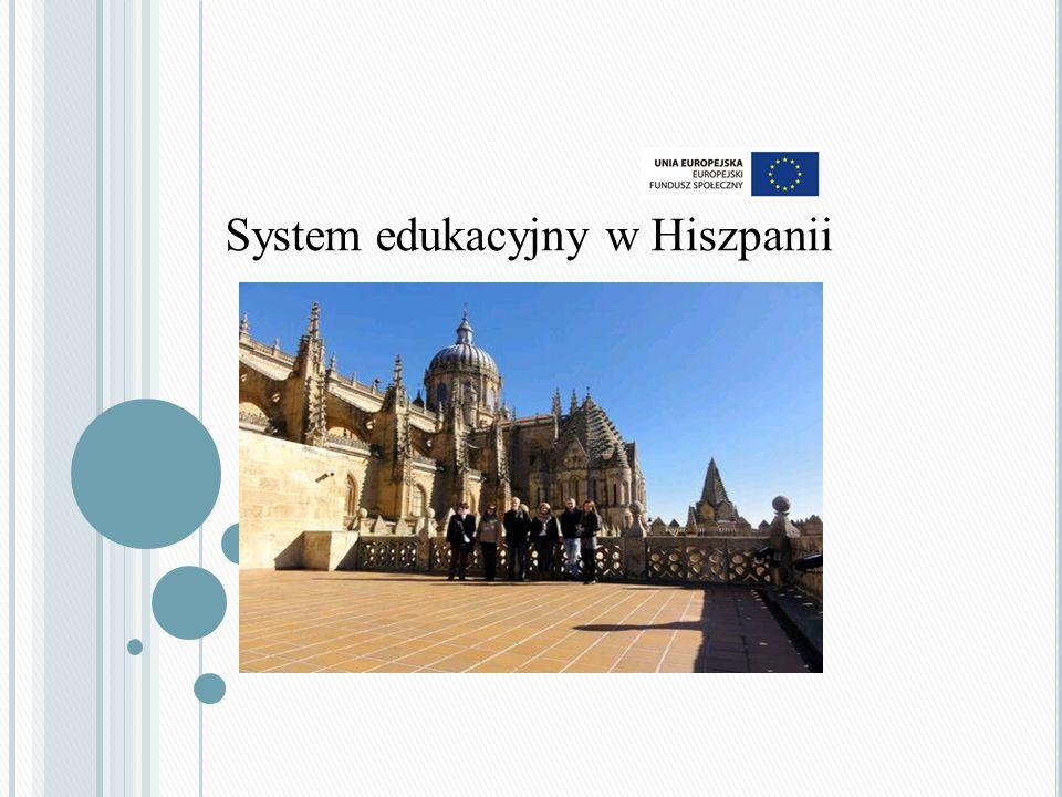 System edukacyjny w Hiszpanii