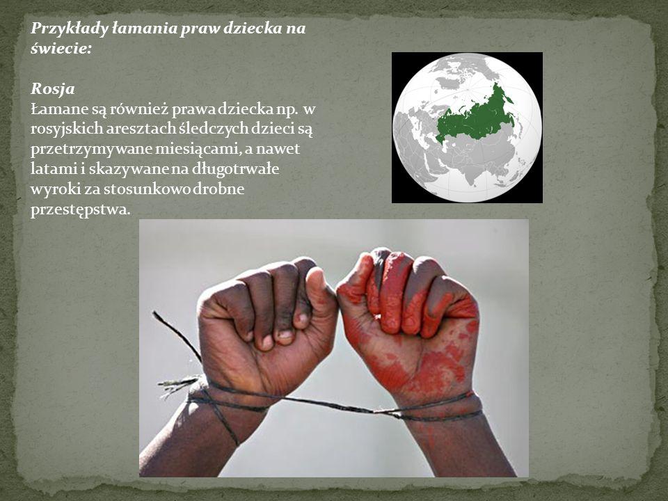 Przykłady łamania praw dziecka na świecie: Turcja Tysiące osób trafiły do więzienia tylko za domaganie się kurdyjskich lekcji w szkołach lub słuchanie