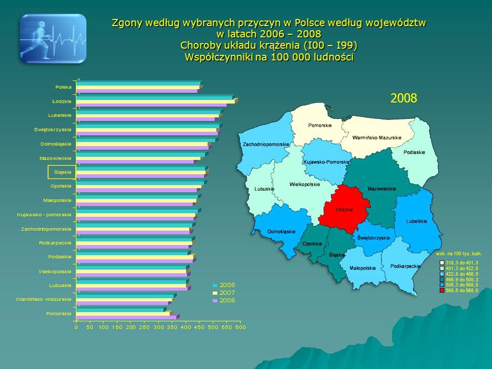 Oddział Analiz i Statystyki Medycznej Wydział Nadzoru Nad Systemem Opieki Zdrowotnej Śląski Urząd Wojewódzki w Katowicach www.katowice.uw.gov.pl Katowice 2010