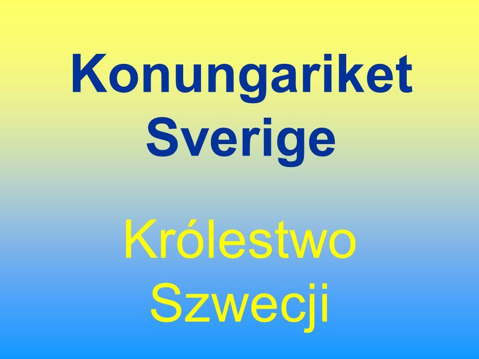 Szwecja w pigułce Stolica: Sztokholm Ważniejsze miasta: Göteborg, Malmö, Uppsala, Linköping, Örebro Obszar: 449 964 km2 Długość granic z sąsiadami: Finlandia 586 km, Norwegia 1619 km Ludność: 8 873 052 Gęstość zaludnienia: 19 osób / km2 Kobiety / Mężczyżni: 50,5% / 49,5% Średnia długość życia: 79,58 lat Języki: szwedzki, mniejszości lapońsko- i fińskojęzyczne Religia: luteranie 87%, katolicy, baptyści, prawosławni, muzułmanie, żydzi Ustrój: monarchia konstytucyjna Waluta: 1 korona szwedzka = 100 öre Strefa czasowa: taka sama jak w Polsce (GMT +01.00) Elektryczność: napięcie 220 V, standard europejski Kod samochodowy: S Domena internetowa:.se Numer kierunkowy: +46