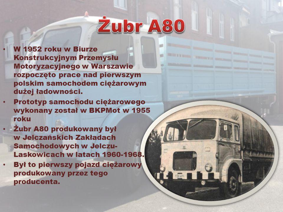 W 1952 roku w Biurze Konstrukcyjnym Przemysłu Motoryzacyjnego w Warszawie rozpoczęto prace nad pierwszym polskim samochodem ciężarowym dużej ładownośc