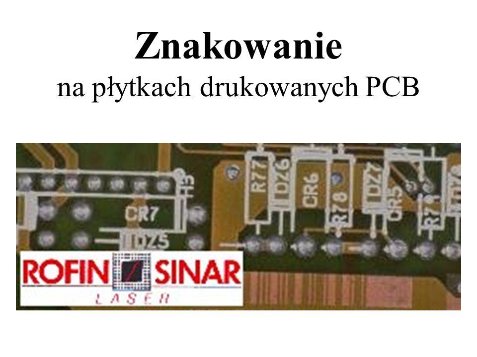 Znakowanie na płytkach drukowanych PCB