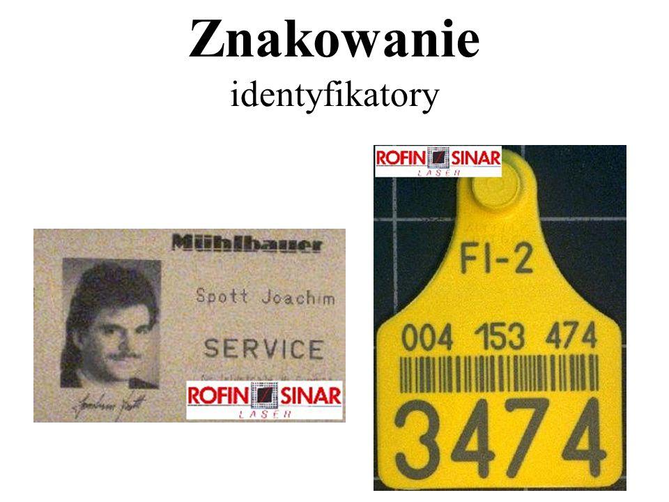 Znakowanie identyfikatory